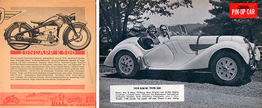 1930-40s print aesthetic
