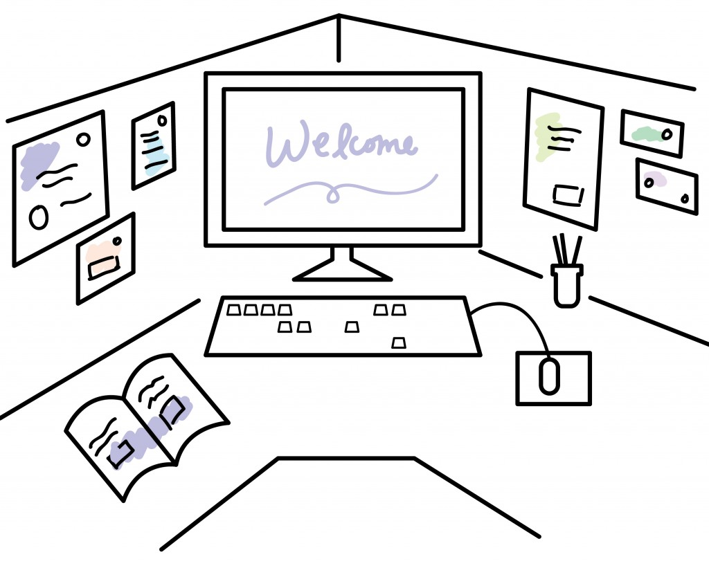 Inviting workspace