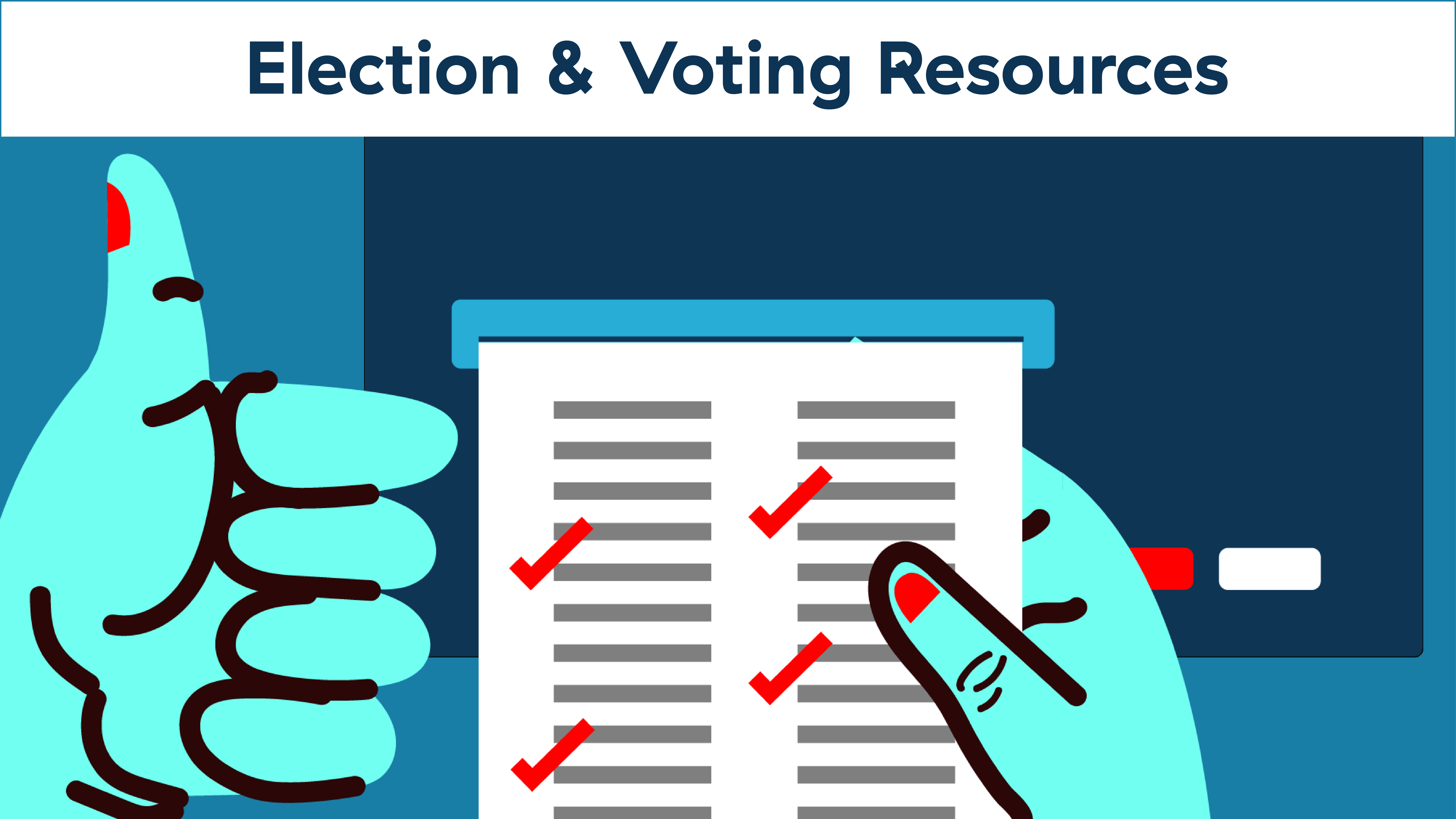 election and voting resources
